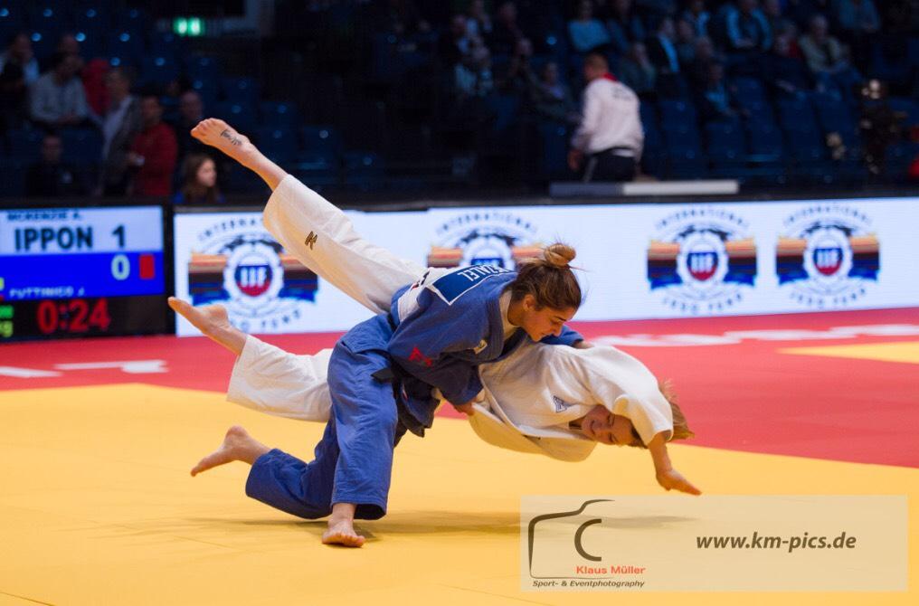 Ariel, a young Israeli judoka