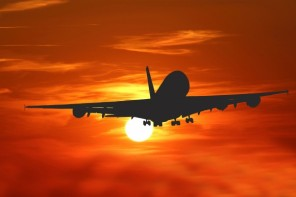 airplane-sunset-travel