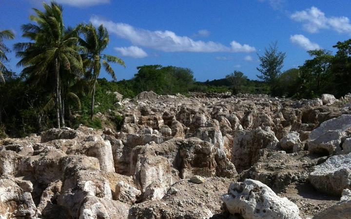 Riserve di fosfato sull'isola di Nauru
