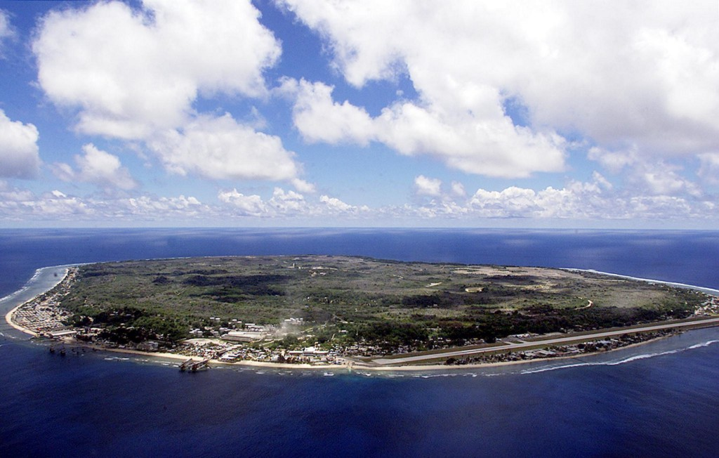 Foto panoramica della Repubblica di Nauru